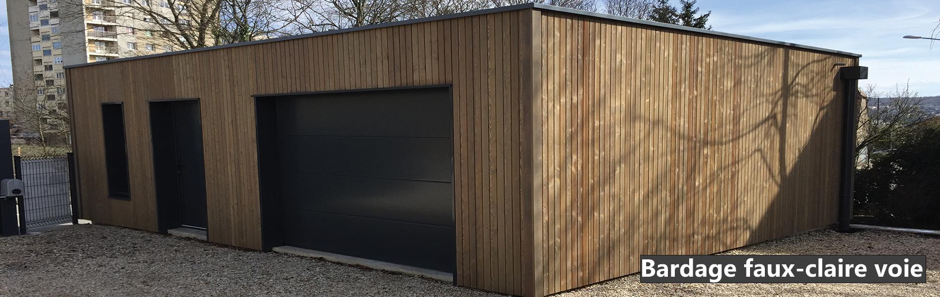 Lames De Bardage Bois Pas Cher bardages bois traités saturés - votre garage bois
