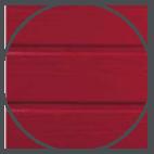 Bardages bois traites colores votre garage bois - Couleur rouge sang de boeuf ...