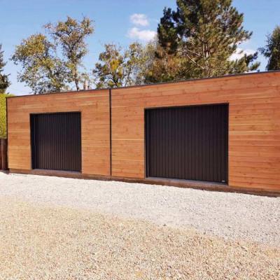 Garage Ossature Bois Sur Mesure De Qualité Garage Bois