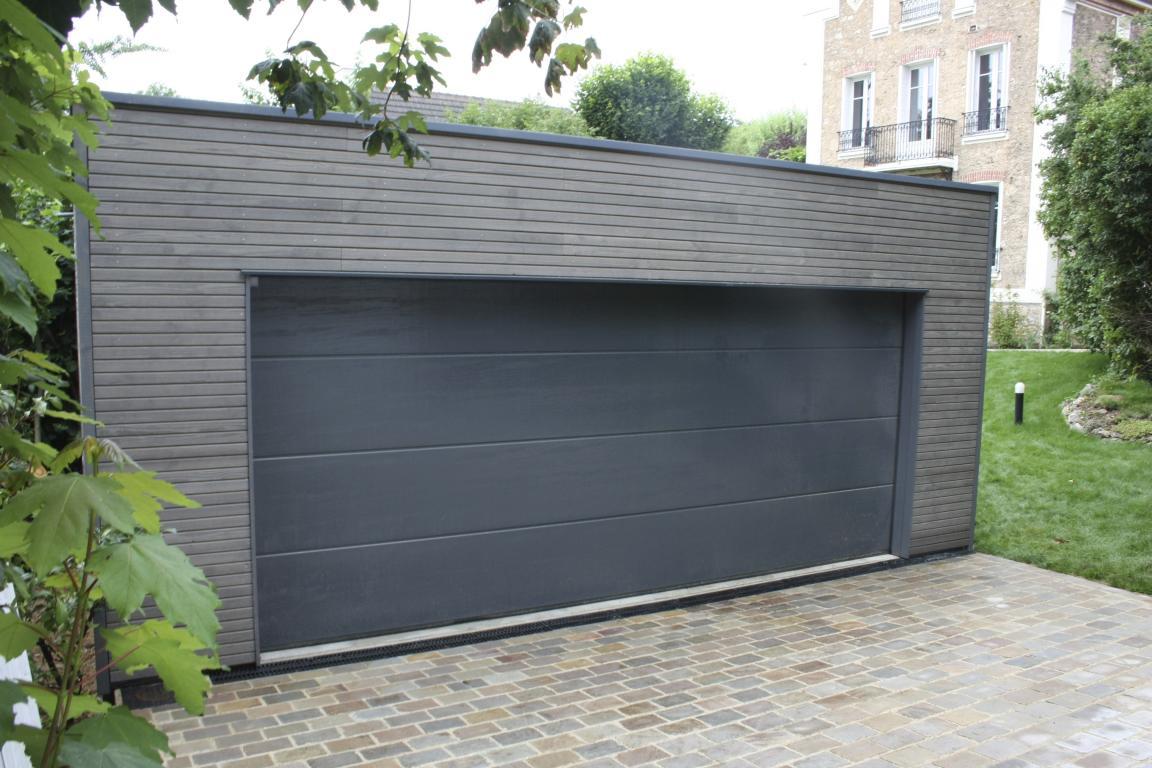 Garage Ossature Bois Sur Mesure De Qualité | Garage Bois Double En Kit