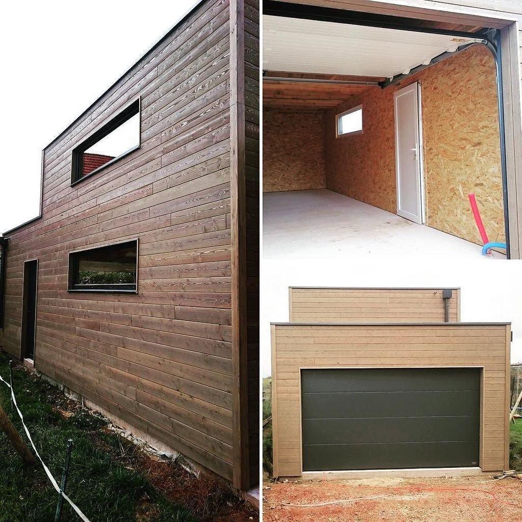 Garage Ossature Bois Sur Mesure De Qualit Garage Bois Double En Kit ~  Construire Un Carport En Bois Soi Meme
