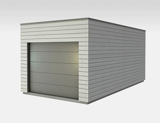 Bardages bois traites colores votre garage bois for Garage bois traite
