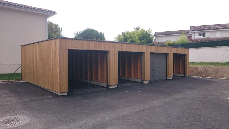 Garage ossature bois sur mesure de qualit garage bois for Garage plan de campagne ouvert dimanche